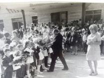 4 школа.1 сентября 1975 года...